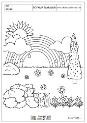 Doga Resmi Boyama Sayfalari Coloring Free To Print