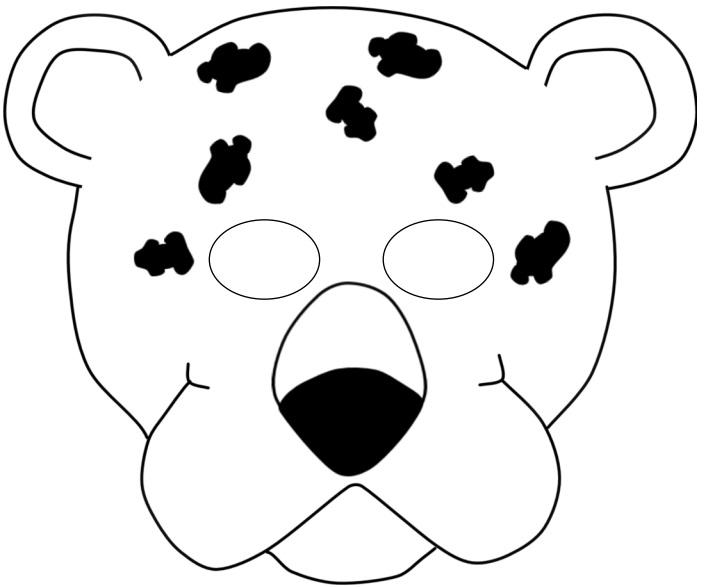 Kagittan Jaguar Maskesi