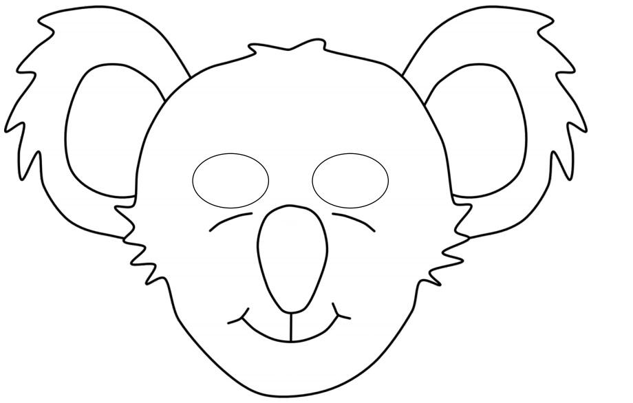 Kagit Koala Maskesi