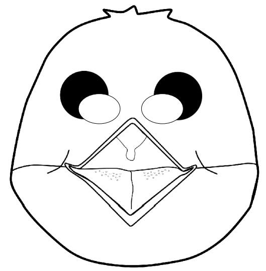 Kagit Kus Maskesi