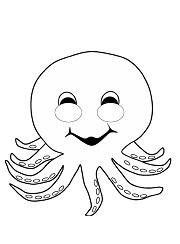Kagittan Deniz Canlilari Maskesi