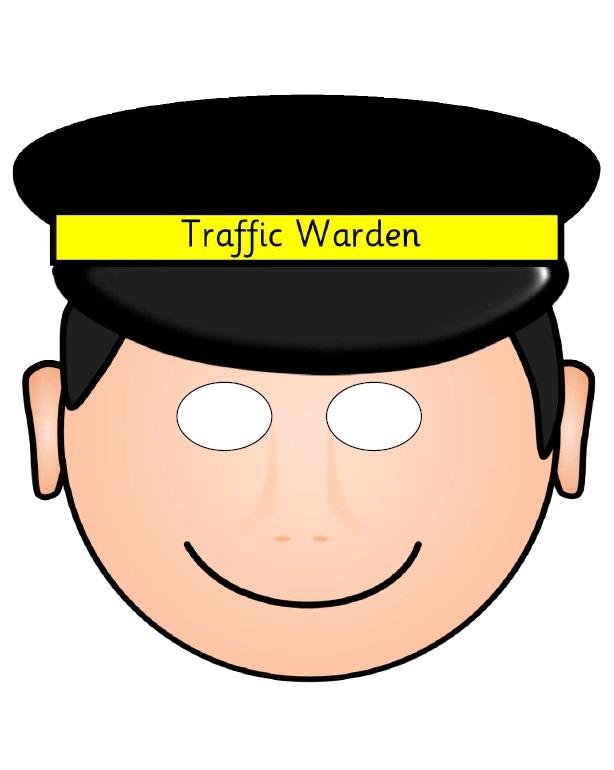 Kagit Trafik Polisi Maskesi
