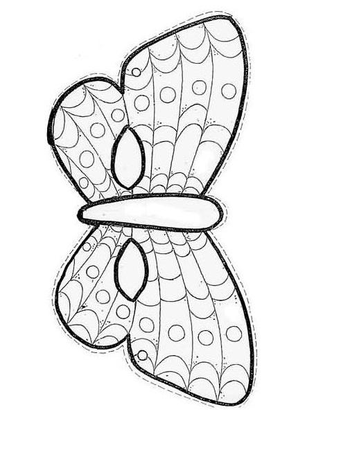 Kagittan Kelebek Maskesi