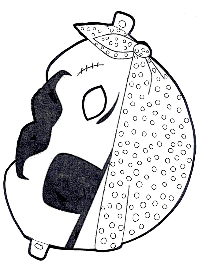 Kagit Korsan Maskesi