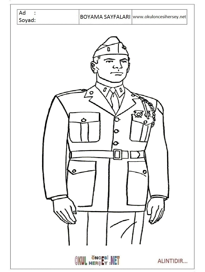 Asker Boyama Sayfalari