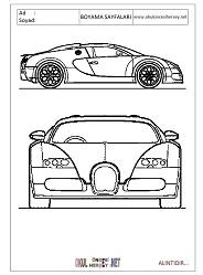 Bugatti Boyama Sayfalari