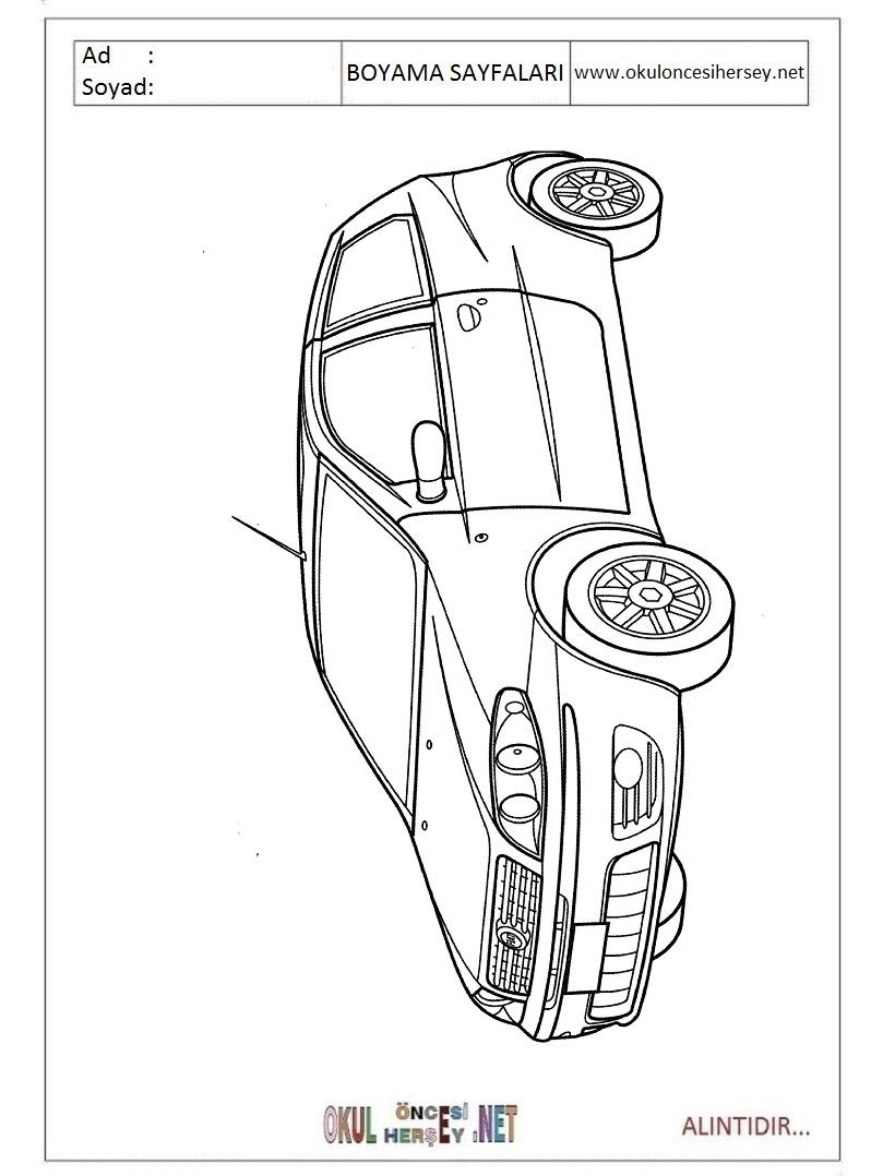 Fiat Boyama Sayfalari