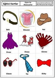 Eğitici kartları hayvanlar eğitici kartları sıfatlar eğitici
