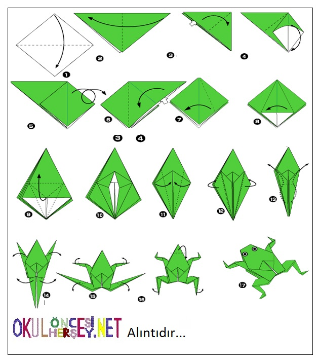 www origami instructions com origami frog html