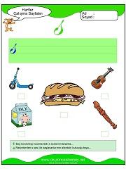 Sesi çalışma sayfaları